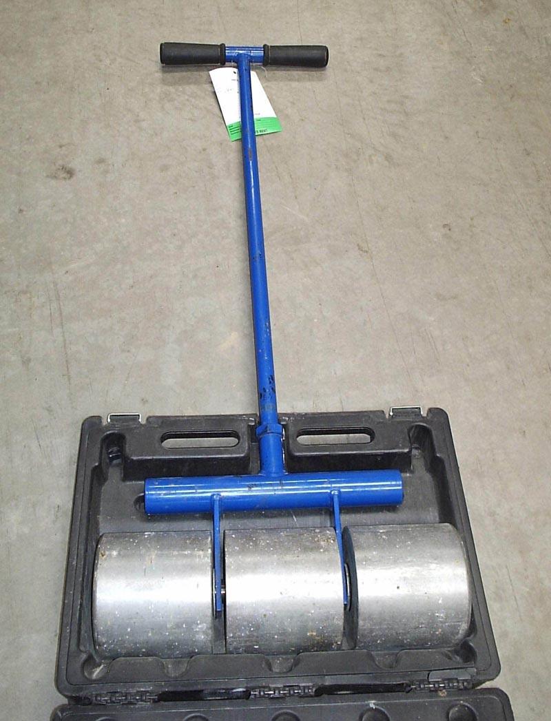 Stunning vinyl floor tile roller photos flooring area for 100 lb floor roller rental
