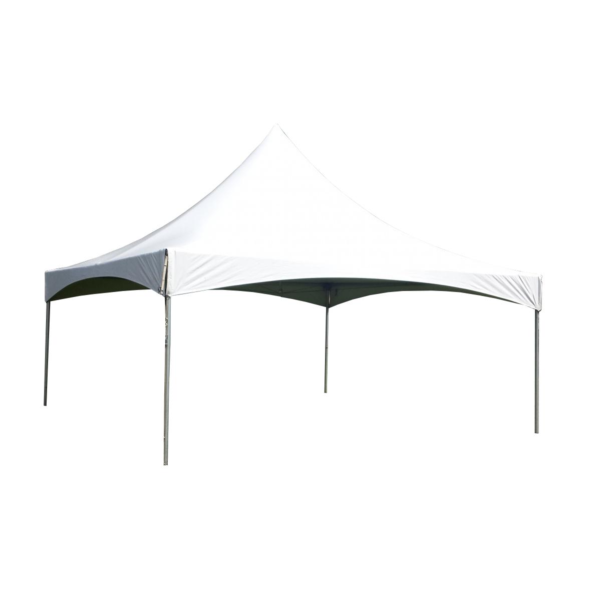 20\' x 20\' White High Peak Frame Tent