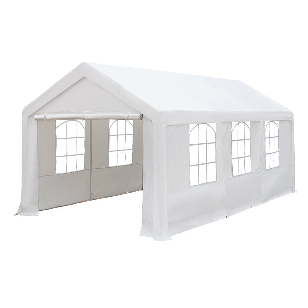 sc 1 st  Mikeu0027s Westside Rental & 18u0027 x 40u0027 White Canopy Tent
