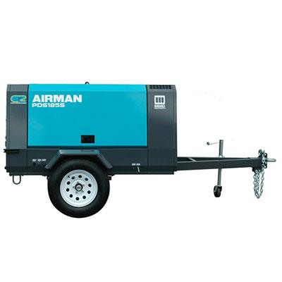 Towable 185 CFM Air Compressor