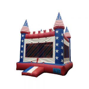 Stars & Stripes Bounce House